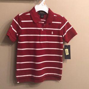 NWT Ralph Lauren polo shirt 2T